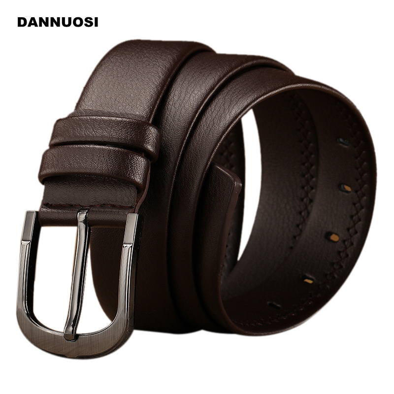 2016 new 100% cowhide tide men's leather belt male casual pin buckle belt belt men's fashion belt(China (Mainland))
