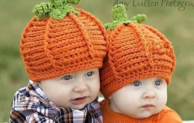 2015 Promotion Direct Selling Patchwork Hat Baby Boys Crochet Flowers Pumpkin Hat Handmade Photography Props Newborn Outfits(China (Mainland))