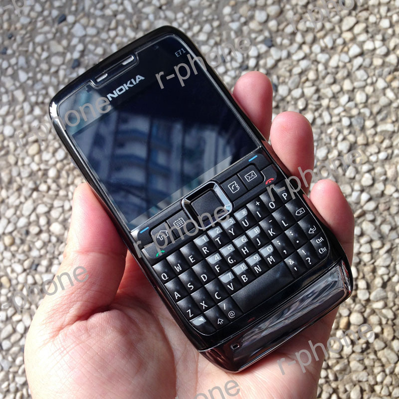 100% Original Nokia E71 Mobile Phone 3G Wifi GPS 5MP Refurbished Unlocked Arabic Russian Keyboard(China (Mainland))