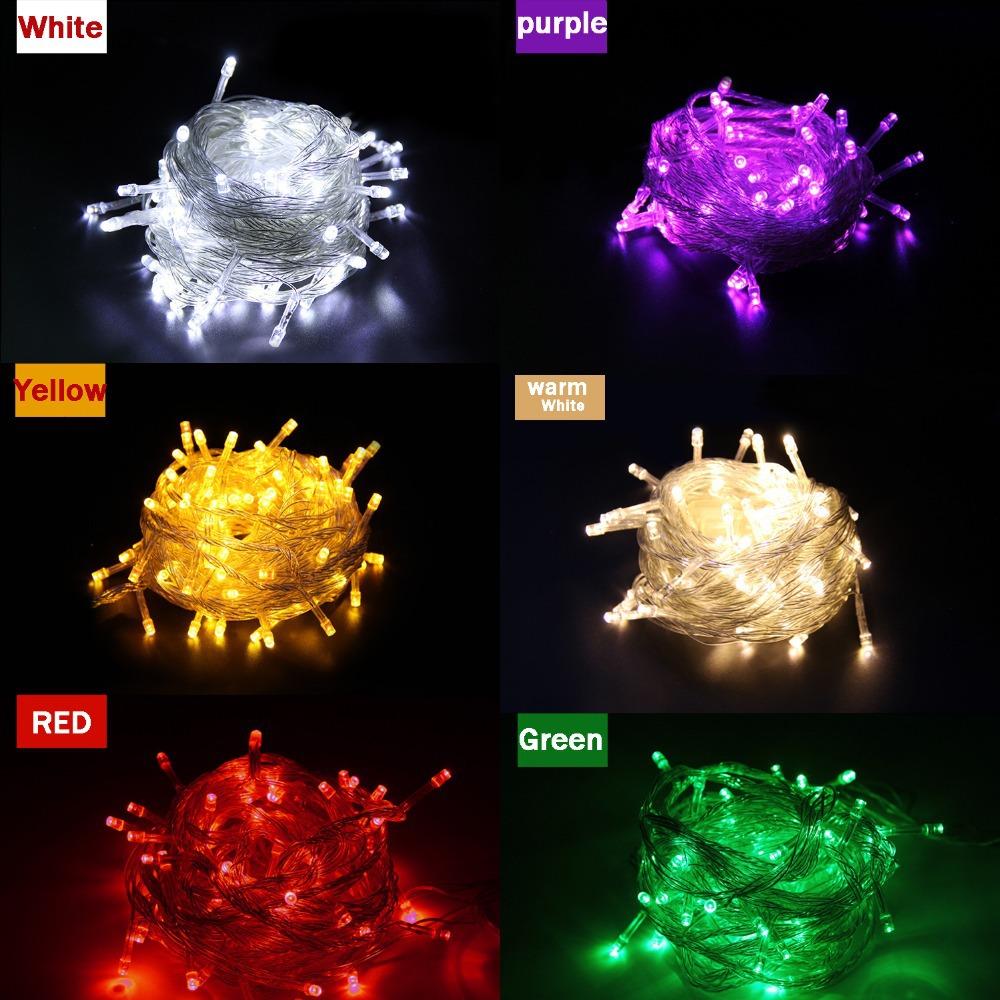 1pieces 100 LED 10m led String Light for Holiday Party Wedding led christmas lighting Free shipping(China (Mainland))