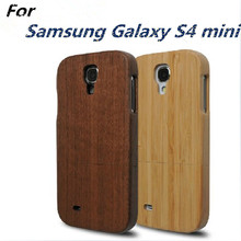 For Samsung S4 mini Genuine Real Wood Cover High Quality Original Wooden Case For Samsung Galaxy S4 mini i9190 i9192 i9195 i9198(China (Mainland))