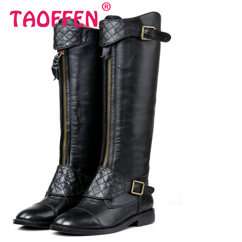 CooLcept Free shipping over knee natrual real genuine leather high heel boots women snow winter warm shoes R5468 EUR size 34-39<br><br>Aliexpress