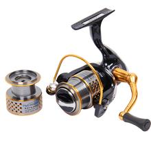 Tsurinoya 2016 New F2000 9BB 5.2:1 2 Spools Spinning Fishing Reel Lure Reels Rock Reel Full Metal Wheels Pesca Fishing Tackles(China (Mainland))