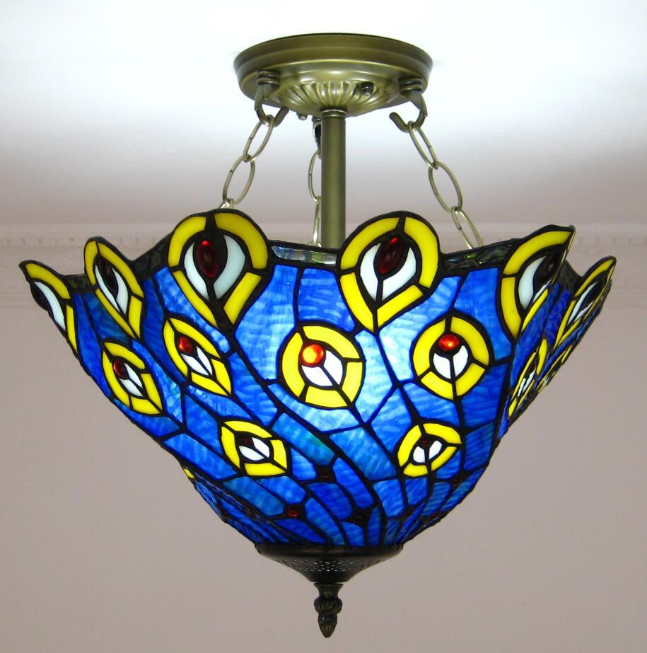 Pauw tiffany lamp koop goedkope pauw tiffany lamp loten van chinese pauw tiffany lamp - Kleur trend corridor ...