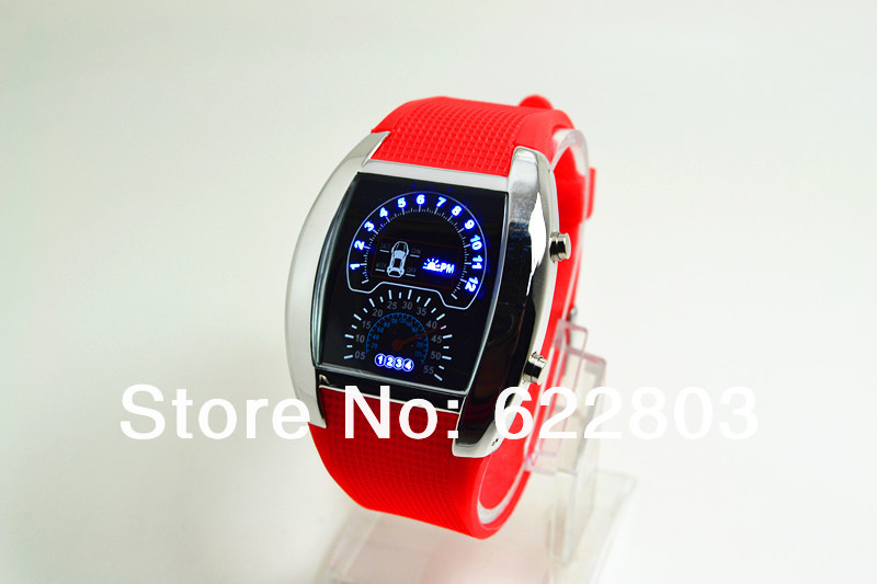 Fashion Watch Men Sports Led Watches Race Speed Car Meter Digital Silicone Strap Men Male Clock Hours sports Military Watches<br><br>Aliexpress