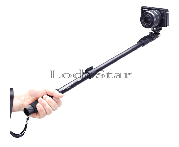 original hot selfie stick monopod yunteng c 188 camera tripod with clip holder for camera phone. Black Bedroom Furniture Sets. Home Design Ideas