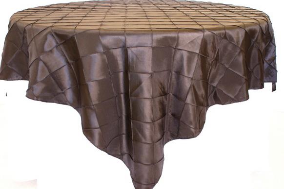 85 inch Square Pintuck Taffeta Tablecloth Table Overlays Dining Table Cloth Wedding Table Cloth Purple Table Cloth(China (Mainland))