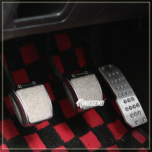 New arrive Pedal car modified pedal slip-resistant pad mugen pedal fit foot pedal AT & MT(China (Mainland))