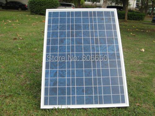 40 w 18v poly solar panel ,soalr module 12v , pv Rv boat for 12v battery,off grid , free shipping *(China (Mainland))