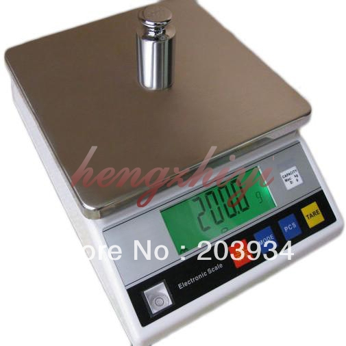 10kg x 1g Accurate Digital Electronic Industrial Weighing Scale Balance, Laboraty Balance with Counting Function,Table Top Scale<br><br>Aliexpress