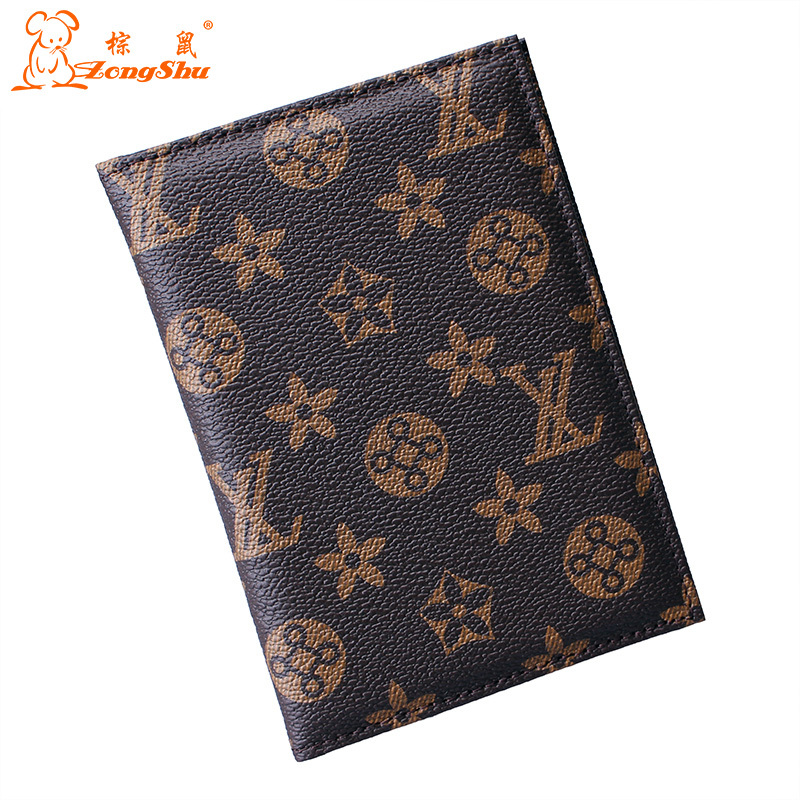 ZS Colorful leather passport cover / gorgeous leather passport holder / fashion leather passport wallet(China (Mainland))