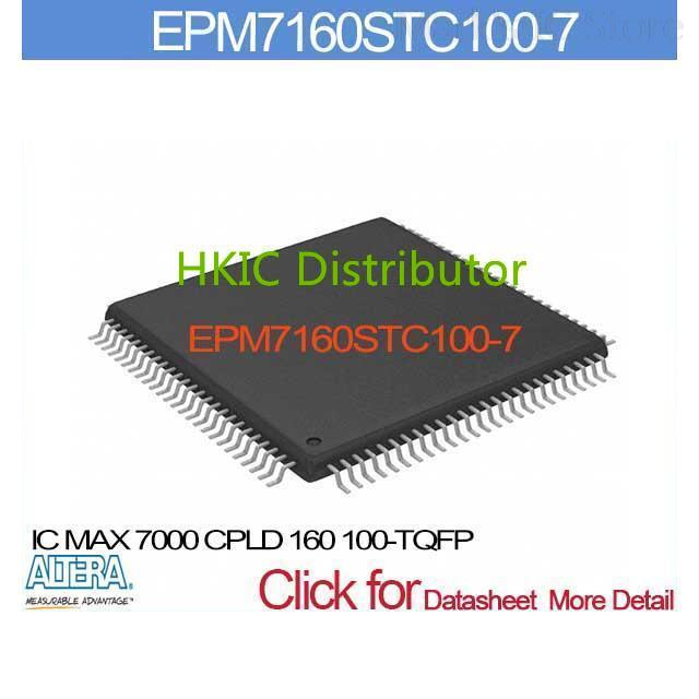 EPM7160STC100-7 IC 7000 CPLD 160 100-TQFP EPM7160STC10 7160STC1 EPM7160ST 7160STC10 EPM7160S 7160STC100(China (Mainland))