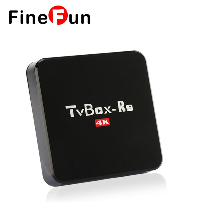 FineFun 2017 High quality portugal Android 4.4 TV Box R9 RK3229 Quad Cortex A7 1.2GHz 32bit smart bluetooth HD Player #A1544(China (Mainland))