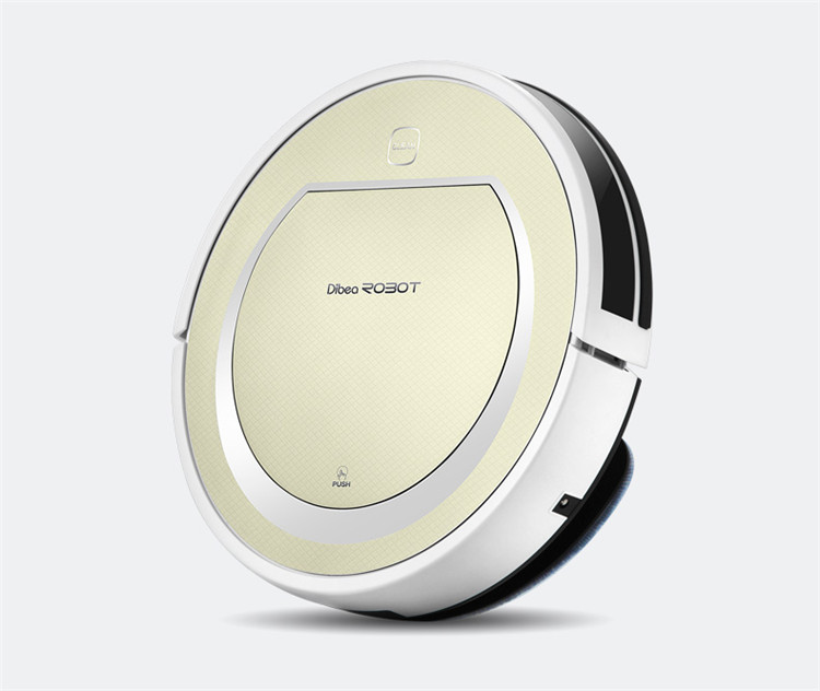 New Amazing Design Dibea V750 robot vacuum cleaner sweep for House(China (Mainland))