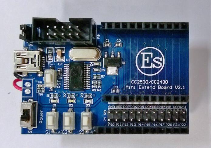 Newest eletronic kit CC2530 module Zigbee development board wireless module IOT Internet of things development +free shipping(China (Mainland))