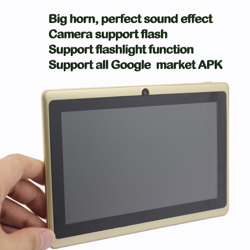 7 inch tab pc  good quality mini computer Tablets pc  wifi bluetooth OTG  1G 16G 7 1GB 16GB Quad Core Spider-Man pattern pattern