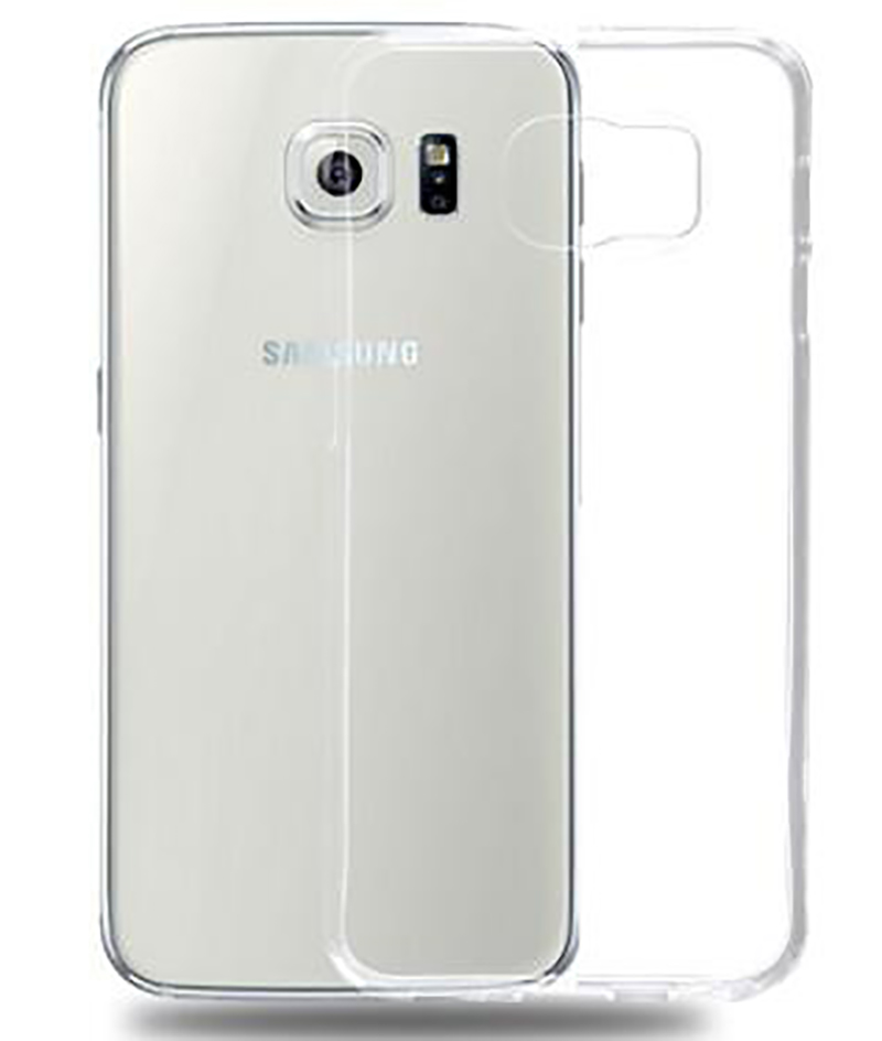 for Samsung GALAXY S6 case 0.6mm flexible Ultra thin TPU transparent Cover phone accessories bag(China (Mainland))