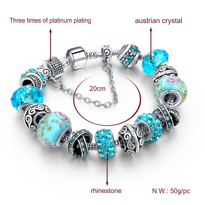 European Charm Bracelets For Women