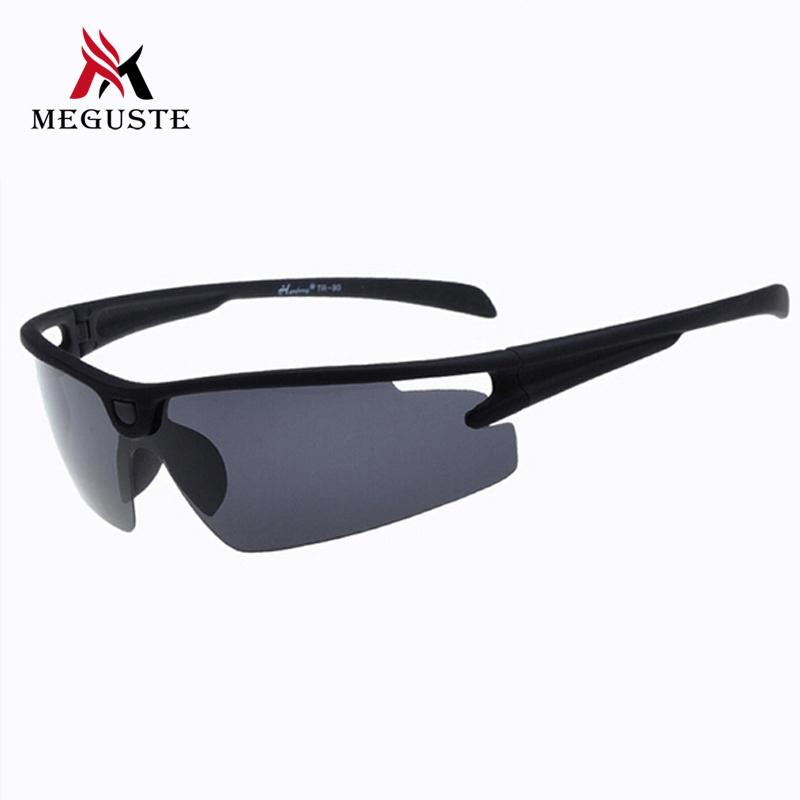 2016 New Sunglasses Men,Matte Black Ultralight PC frame Polarized lens sunglasses Eyewear Outdoor Sport UV400 Goggle Sun Glasses(China (Mainland))