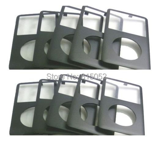 10 Pcs New Front Cover Faceplate Housing for iPod 6th Gen Classic(China (Mainland))