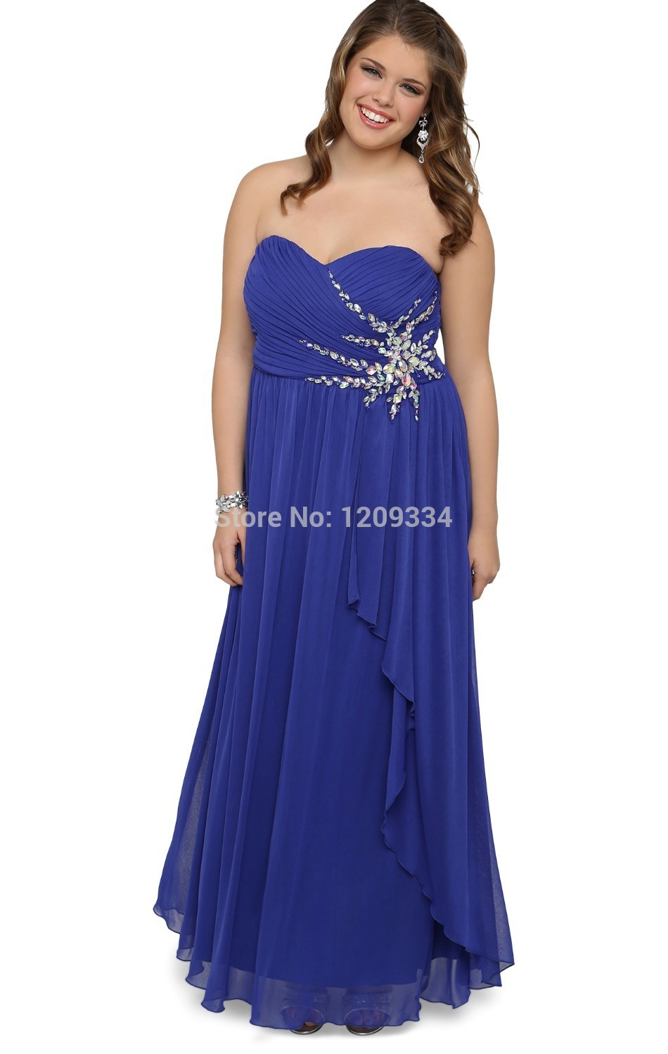 Think, blue and orange prom dresses you