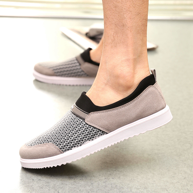 Sole-Upper Linking Men Shoes Breathable Shoes Men Korean Air Mesh Hollow Sleeve Foot Shoes Wholesale 2016 New Arrival<br><br>Aliexpress