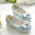 J Ghee 2017 New Spring Hot Sale Floral Girls Shoes Princess Single Shoes For Girl Kids