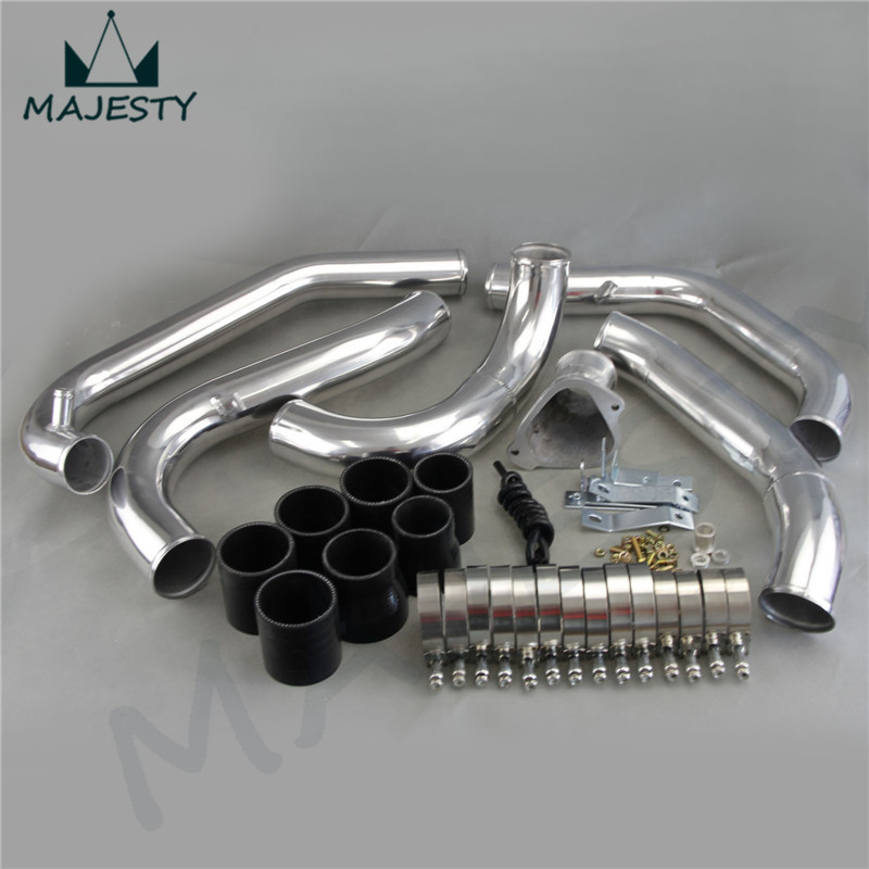 Front Mount Intercooler pipe piping Kit Mazda RX7 RX-7 FC FC3S 13B 86-91 BK - MAJESTY MOTOR store
