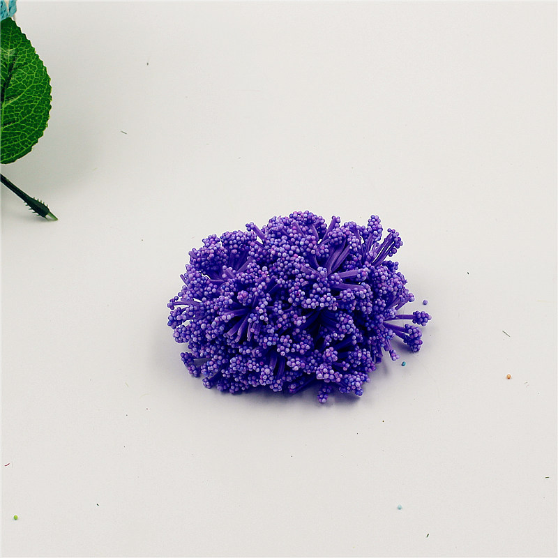 Cheap 12pcs Foam Baby s breath Artificial Flower Bouquet For Wedding Decoration DIY Scrapbooking Decorative Wreath