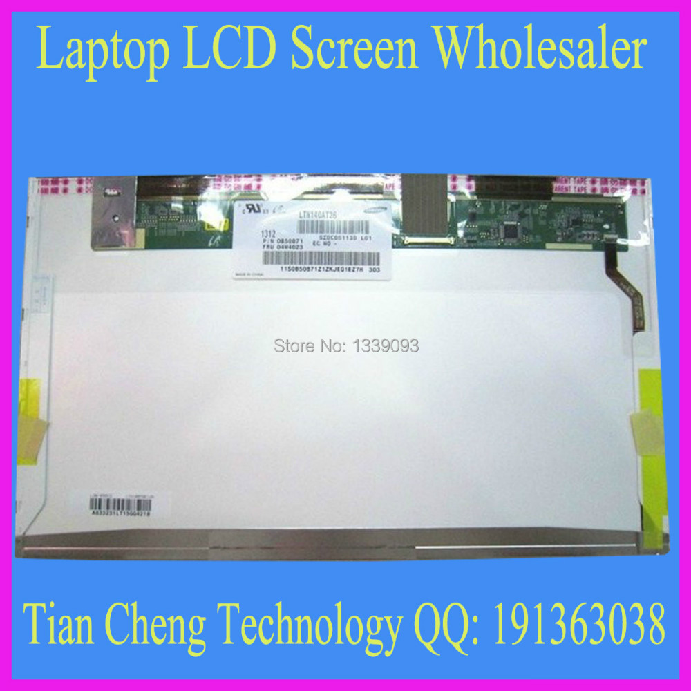 laptop screen for compatible N140BGE-L22 LTN140AT07 B140XW01 LP140WH1 LP140WH4 NEW(China (Mainland))