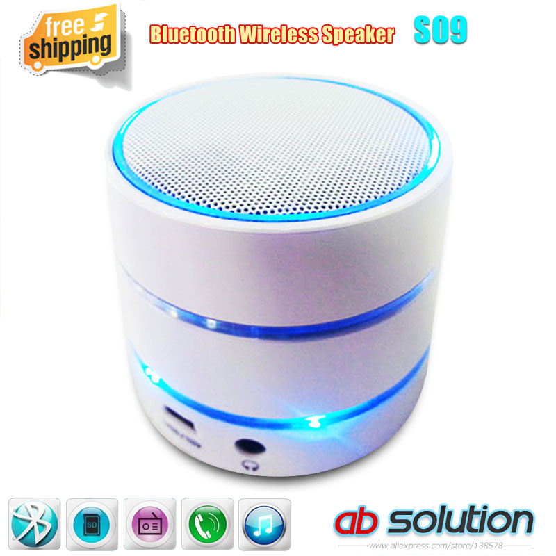 S09/S10/S11 Portable Mini Speaker Bluetooth Subwoofer Speakers Support TF Card, Handfree FM Radio Cellphone - Shenzhen Absolution Gifts Co., Ltd. store
