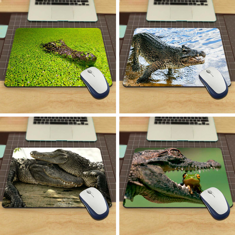 hiding crocodile Gaming Personalized Durable Mouse Pad Mat Comfort Mice Pads(China (Mainland))