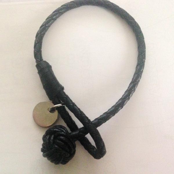 2015 New style braided leather knot bracelet wrap mens  -  JMY Fashion Jewelry ( min$10 store)