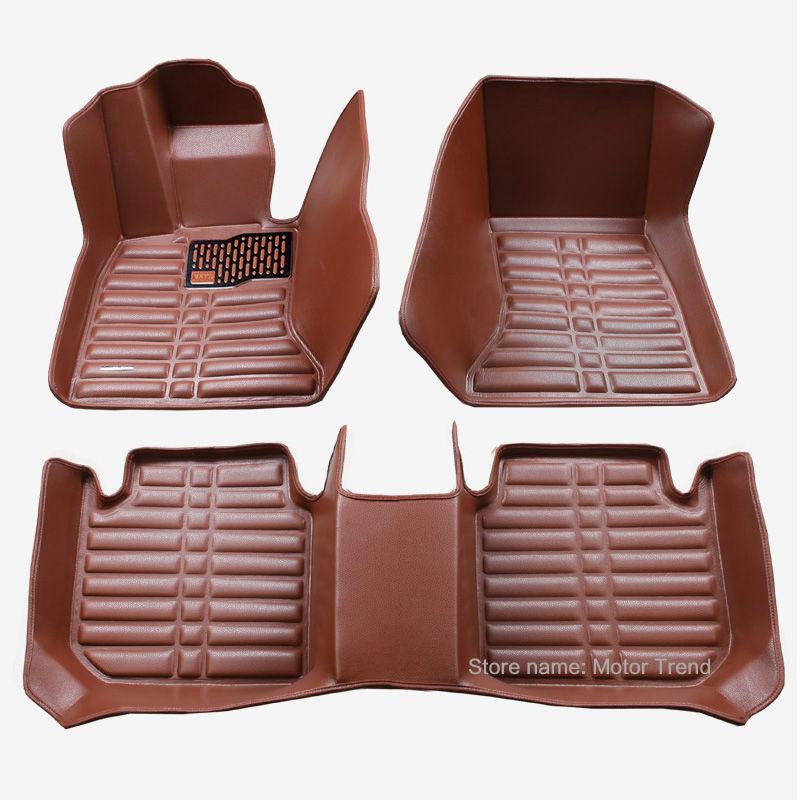 Custom fit car floor mats for Buick Enclave Encore LaCrosse Regal Excelle GT XT 3D car-styling carpet floor liner RY166<br>