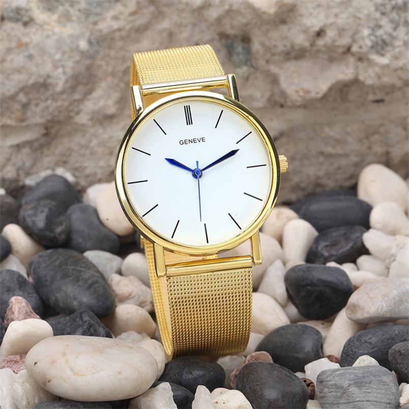 Novel design Fashion female watches Geneva Womens Fashion Watch Stainless Steel Band Quartz Wrist Watches yj<br><br>Aliexpress
