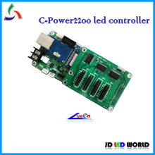 c-power2200 single and dual color led moving sign controller card lumen led card(China (Mainland))