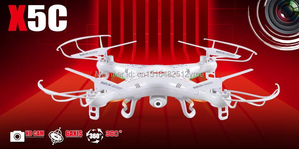 drone Syma x5 X5C 4CH 2.4G RC RC Drone/ rc Quadcopter Eversion Aircraft with/without 2.0 Pixels HD Camera free shipping