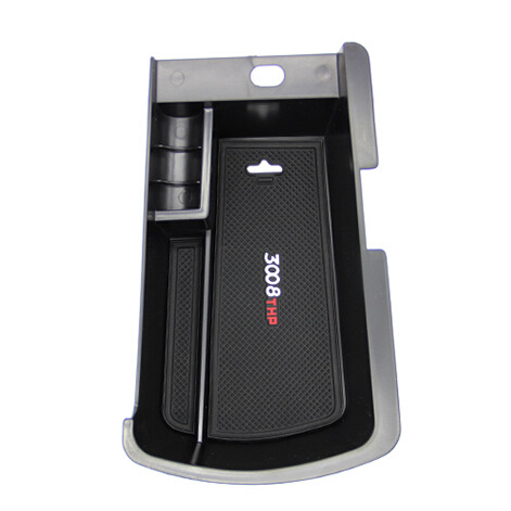 New Products! Auto Glove Box Armrest Storage Box For peugeot 3008(China (Mainland))