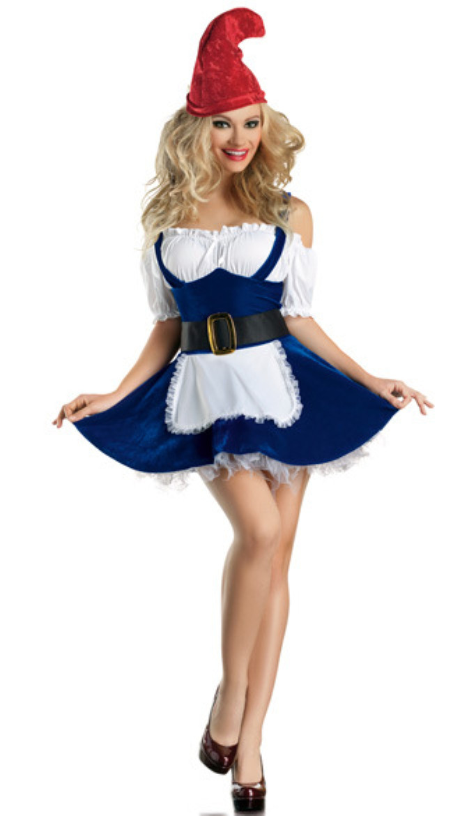 Sexy Women Beer Girl Costumes Christmas Holliday clothes blue DS dress Night Fairy costume Adult Halloween Costume For Carnival(China (Mainland))