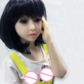 New 128cm Sex Dolls With Flat chest Japanese Mini Sex Doll Life Like Silicone Love Doll