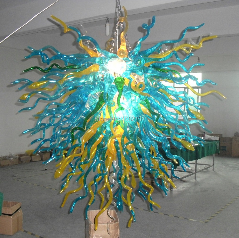 free shipping chihuly glass light modern dining room chandelier in chandeliers from lights. Black Bedroom Furniture Sets. Home Design Ideas