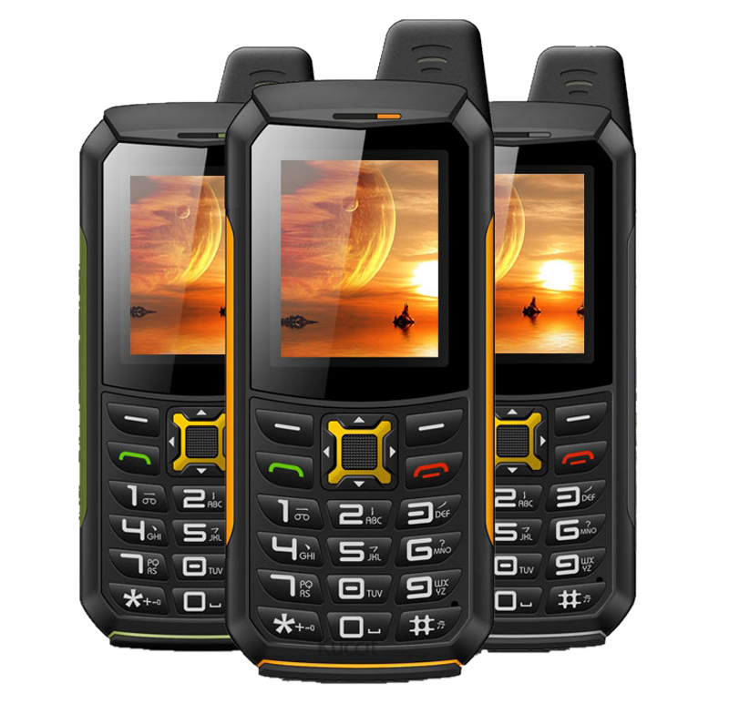 Original M21 IP68 Waterproof Torch phone Mobile GSM Senior old man phone Rugged shockproof cell phone Two Sim Breathe light Army(China (Mainland))