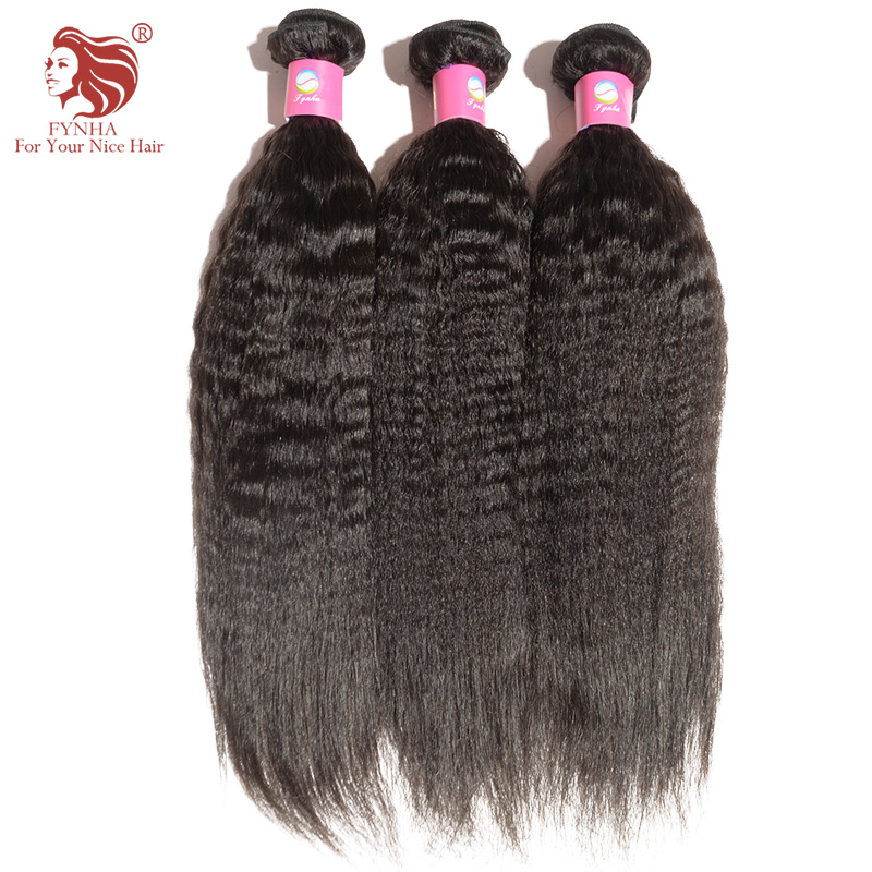 3pcs/lot Malaysian kinky Straight Hair Weaves Grade 6A Virgin Human Hair Extensions Natural Black DHL Free Shipping(China (Mainland))