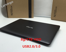 Free Shipping 14inch Laptop PC Computer Notebook Windows 7/8 Qual Core J1900 8G+1TBHDD Wifi tablet USB3.0 1.99GHz HDMI(China (Mainland))