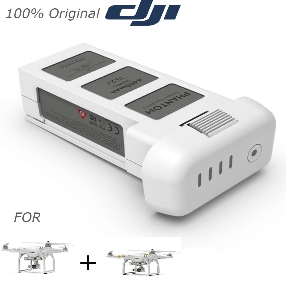 100% Original Dji 15.2V 4480mAh Intelligent Flight LiPo Battery for Dji Phantom 3 Professional and Advanced Version<br><br>Aliexpress