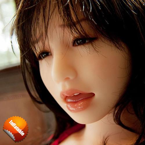 New Japanese realistic blow up doll 160cm silicone vagina pussy oral anal masturbator Senior pvc semi solid inflatable sex dolls(China (Mainland))