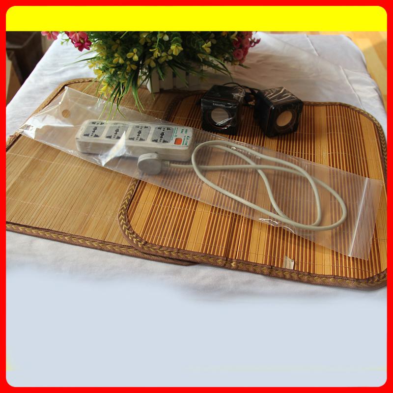 17 * 65 * 8 Transparent plastic storage bags ziplock bags 100 price(China (Mainland))