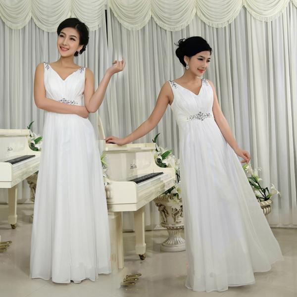 Новый 2016 мода долго дизайн ну вечеринку платья пром платье с двойным - плечо Жилетido ...
