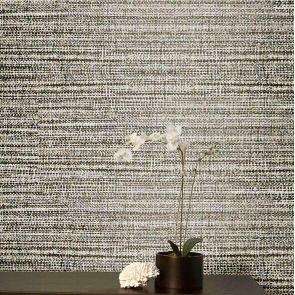 Wallpaper horizontal grey stripe wallpaper fashion wall for Grey 3d wallpaper