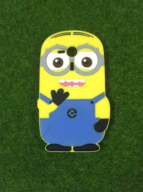 Sony Xperia SP M35h C5302 Covers 3D Cartoon Yellow Despicable Me2 Minion Soft Rubber Back Phone Cases - LONWAY Electronics technology Co. Ltd store